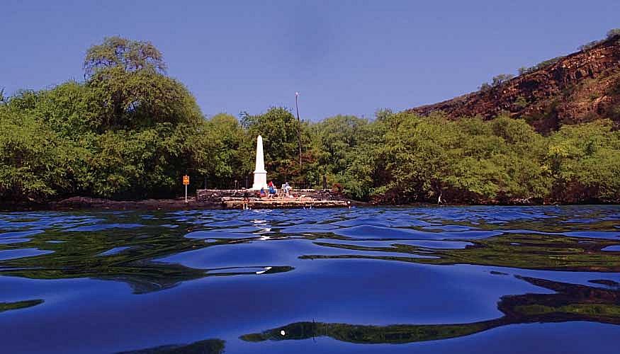Captain Cook monument, Captain Cook Hawaiii